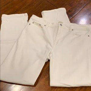 J Crew Off White Jeans